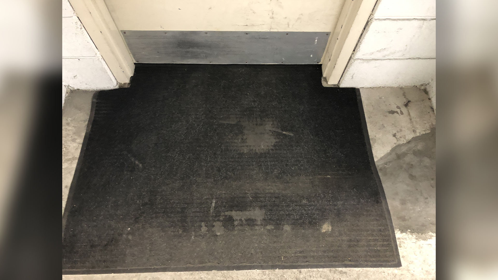 Not So Welcome Mat